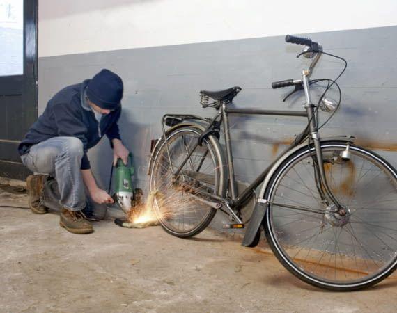 """Fahrraddiebe bevorzugen uneinsehbare Abstellplätze als """"Arbeitsort"""""""