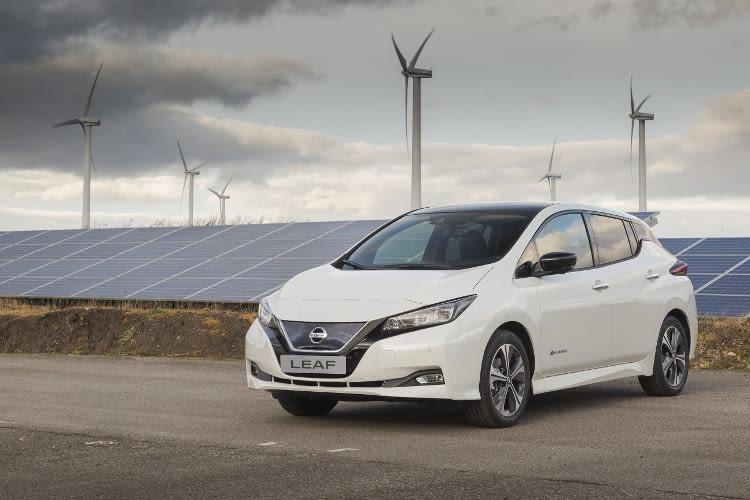 Das Elektroauto Nissan Leaf 2018 bietet eine Reichweite von 380 km