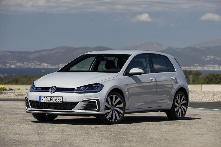 Das E-Auto Golf GTE von VW kann Kurz- und Langstrecke