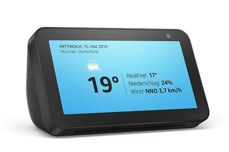 Echo Show besitzt die kleinste Bildschirmgröße der Amazon Echo Show Produktreihe