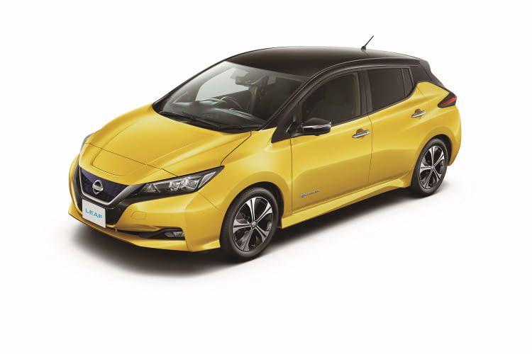 Nissan Leaf 2018 mit 50 Prozent größerer Batterie für nur 700 Euro Aufpreis zu seinem Vorgänger.