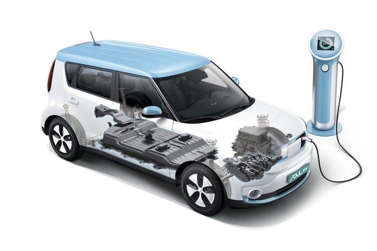 Die Kia Soul EV wurde nicht als Elektroauto entwickelt - die Batterie findet im Unterboden Platz.