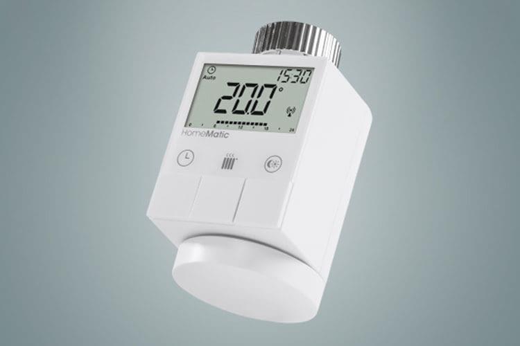 Das HomeMatic Heizkörperthermostat hat einen integrierten Schutz vor Verkalkung