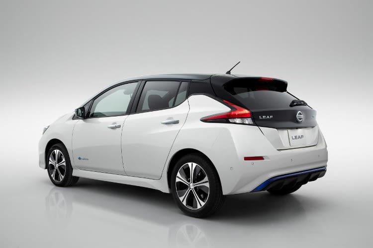 Der Nissan Leaf 2018 ist auch in einer 2-Farben-Lackierung erhältlich.