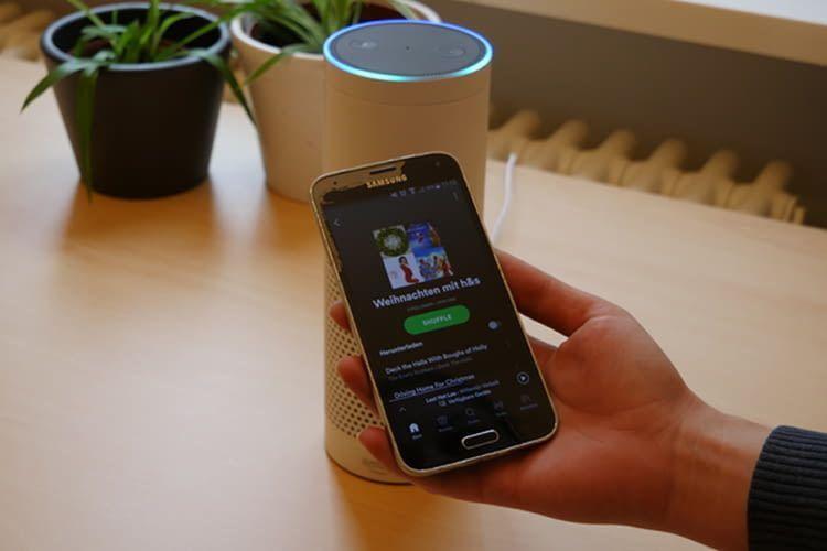 Auch Spotify lässt sich in der Alexa-App als Standard-Musikdienst festlegen