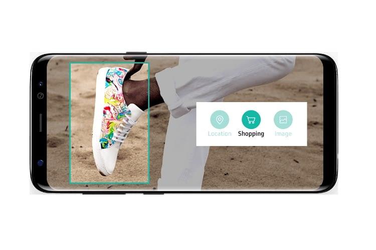 Bixby 2.0 erkennt Gegenstände und zeigt deren Anbieter