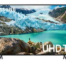 55 Zoll UHD LED-TV mit eigenem Bildoptimierungs-Prozessor, dynamischen HDR und Bluetooth