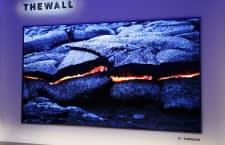 Samsungs modularer Riesenfernseher kommt dank selbstleuchtender MicroLEDs ohne Hintergrundbeleuchtung aus
